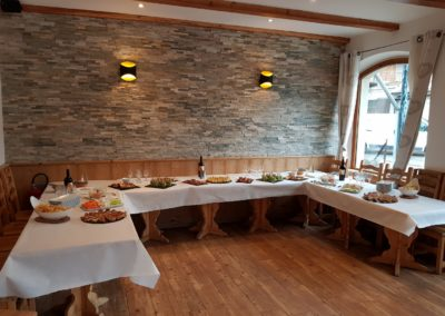 Restaurant à proximité de la Vallouise