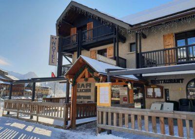 hotel les vallois hotel vers Puy saint vincent