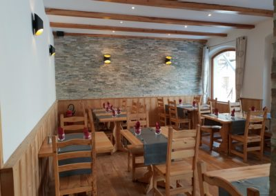 restaurant vers Pays des Ecrins