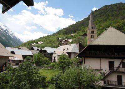 chalet hôtel les vallois vers la Vallouise